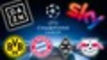 champions league im live-stream: so sehen sie alle spiele online