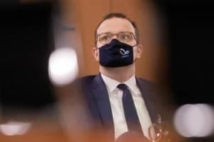 Nur Erkältungssymptome: Gesundheitsminister Spahn positiv auf Corona getestet