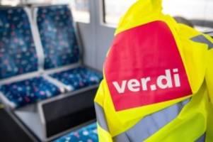 Tarife: Warnstreik: Öffentlicher Dienst in Niedersachsen und Bremen
