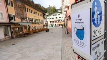 Coronamaßnahmen: Politiker schließen zweiten Fall Berchtesgaden nicht aus