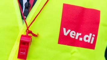 Verdi: Neue Warnstreiks im öffentlichen Nahverkehr am Montag