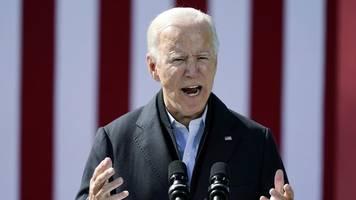 Vor TV-Duell - Biden: Korruptionsvorwürfe sind Verleumdungskampagne