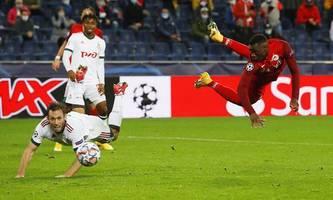 Salzburg zum Champions-League-Start 2:2 gegen Lok Moskau