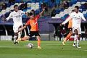 Champions League - Riesen-Blamage zum Auftakt: Real Madrid verliert daheim gegen Schachtar Donezk
