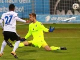 Erste Saisonniederlage für den TSV 1860: Druckverlust im leeren Stadion