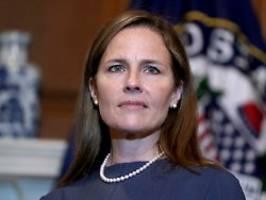 Vorentscheid für Supreme Court: Justizausschuss billigt Trumps Kandidatin