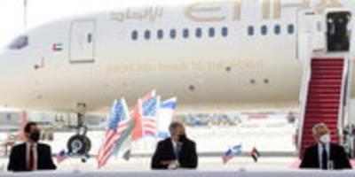 israel und die emirate: visafreiheit und eine neue pipeline