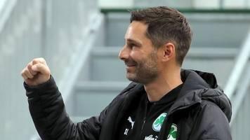 Fürther Coach hofft in Kiel auf bessere Chancenverwertung