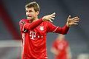 """Die größten Rabauken"" - Sogar im TV zu hören: Bayern-Star Müller wettert lautstark gegen Schiedsrichter"