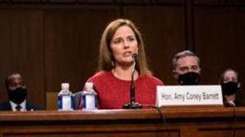 Kandidatin für den Supreme Court: Senatsausschuss bestätigt Barrett