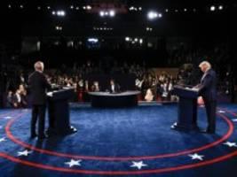 US-Wahl 2020: Und dann erklärt Trump Biden für korrupt