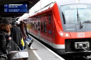 Bauarbeiten behindern Zugverkehr um Augsburg: Bahn bietet Ersatzbusse an