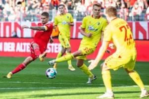 Bundesliga: Union kassiert gegen Freiburg eine gefühlte Niederlage