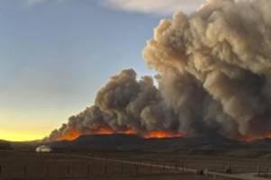 Feuer in den Rocky Mountains: Tote bei Waldbrand in Colorado - Schneesturm erwartet