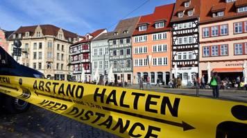 Auch Landeshauptstadt Erfurt jetzt Corona-Risikogebiet