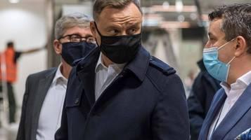 Corona-News: Polens Präsident positiv auf Coronavirus getestet