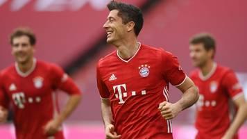 Bundesliga: FC Bayern siegt gegen Frankfurt – Lewandowski knackt nächsten Rekord