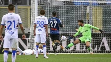 serie a - atalanta bergamo verliert 1:3 gegen sampdoria genua