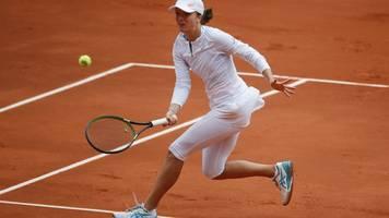 Tennis-Star: Swiatek nach Treffen mit Präsident in Corona-Quarantäne