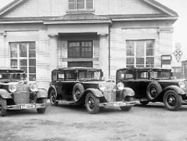 luxuskarossen vor 90 jahren: mercedes vs. maybach - kampf um kronen