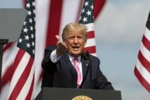 Ich hatte es, hier bin ich: Trump spielt im Wahlkampf Corona-Gefahr herunter