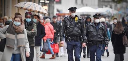 """Steigende Infektionszahlen bei der Polizei – """"Wenn wir ausfallen, geht das Licht aus"""""""