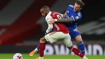 Premier League: Arsenal vergibt gegen Leicester viele Chancen