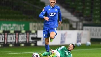 5. Spieltag - Nach Corona-Wirbel: Werder und Hoffenheim mit Punkteteilung