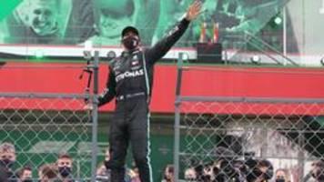 Formel 1: Hamilton feiert Rekord-Sieg in Portugal