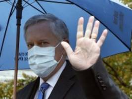 Blog zur US-Wahl: Trumps Stabschef rückt Corona-Aussagen des Präsidenten zurecht