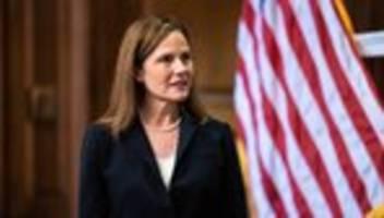 supreme court: us-senat stimmt über bundesrichterin amy barrett ab