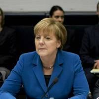 Angela Merkel: Bundeskanzlerin trauert um Thomas Oppermann