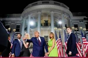 US-Wahl 2020: Donald Trump: Das sind die fünf Kinder des US-Präsidenten