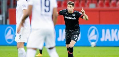 Bayer dank Alario auf Platz vier – Doppelpack gegen Ex-Coach Herrlich