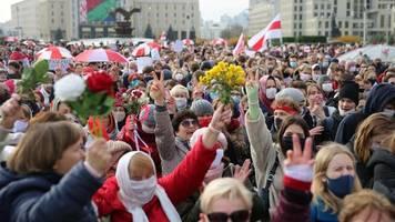 Neue Proteste: Generalstreik in Weißrussland angelaufen