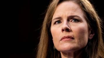 abstimmung im us-senat: kommt barrett in supreme court?