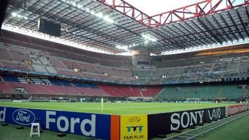 Italien: Verband und Liga fürchten Pleite von Serie-A-Klubs