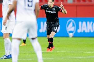 Doppelpack gegen Augsburg: Bayer dank Alario auf Platz vier
