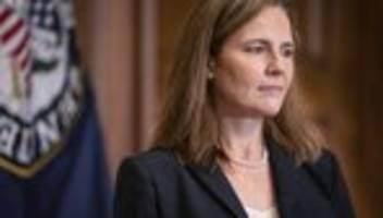 Vereinigte Staaten: US-Senat bestätigt Amy Coney Barrett als Richterin am Supreme Court