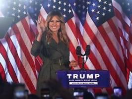 Nicht immer einverstanden: First Lady lobt und tadelt Trump für Tweets