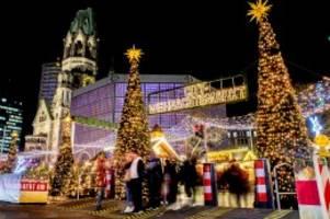 Corona in Berlin: Diese Weihnachtsmärkte sollen trotz Corona stattfinden