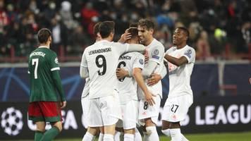 Champions League - Dank Kimmich: Bayern mit Zittersieg bei Lokomotive Moskau