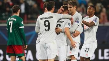Champions League: Zittersieg! Kimmich rettet den FC Bayern bei Lok Moskau