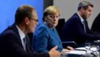Corona-Pandemie: Bund und Länder beschließen Einschränkung des öffentlichen Lebens