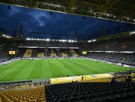 Bund und Länder beschließen: Fußball und Co. gibt's nur ohne Zuschauer