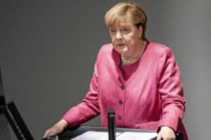 Parlament: Regierungserklärung zu Corona: Merkel spricht vor Bundestag