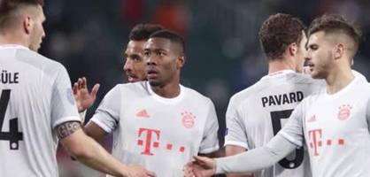 Bayern siegt knapp gegen Lok Moskau