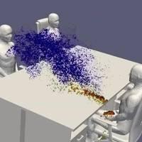 Trockene Luft gefährlich: Video-Animation zeigt Virus-Ausbreitung in geschlossenen Räumen