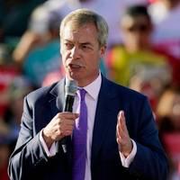 US-Wahlkampf: Donald Trump begrüßt Nigel Farage als mächtigsten Mann von Europa
