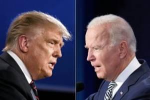 US-Wahl: Chaos, Klagen, Amtsübergabe: Was in den USA passieren könnte